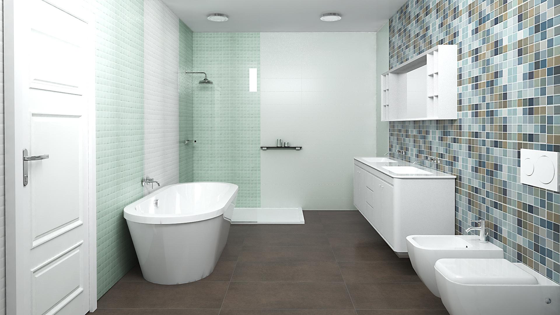 Bagno mattonelle - Mattonelle per bagno prezzi ...
